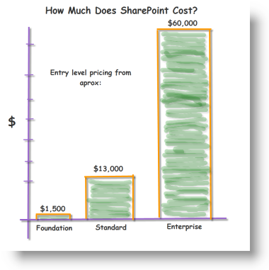 how much does SharePoint cost- small 2