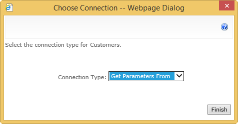 Web Part Connection get parameters from