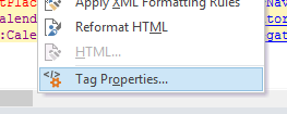 SPD - Tag Properties